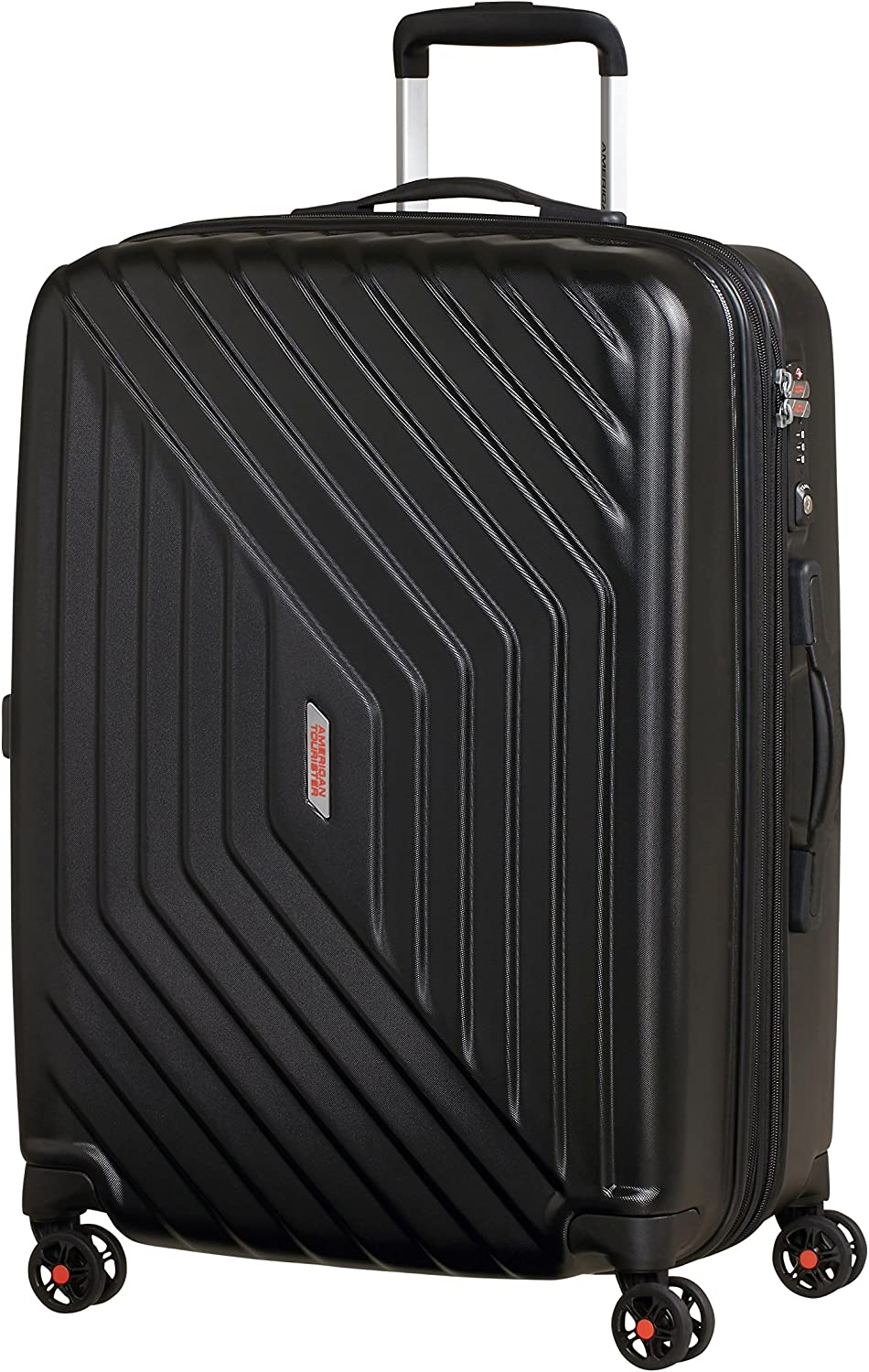 American Tourister Air Force 1 - Maleta, Negro (Galaxy Black), M (66cm-69L)