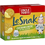 UNCLE TOBYS Le Snak Cheddar Cheese Dip & Crackers 6 Pack, 132g