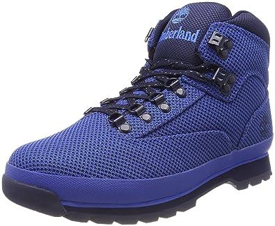 df6bad11db2 Timberland A1O72 Men's Euro Hiker Cordura Fabric Boots, Nebulas Blue ...