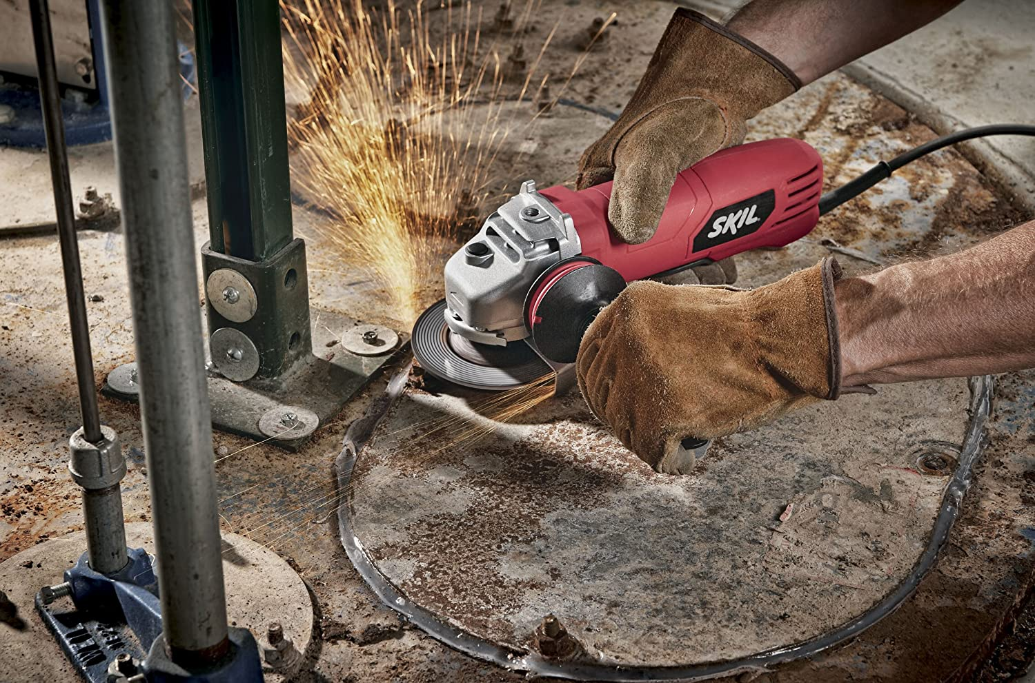 Skil 929601 75 412inch Paddle Switch Angle Grinder Power. Skil 929601 75 412inch Paddle Switch Angle Grinder Power Grinders Amazon. Wiring. Skil Bench Grinder Wiring Diagram At Scoala.co