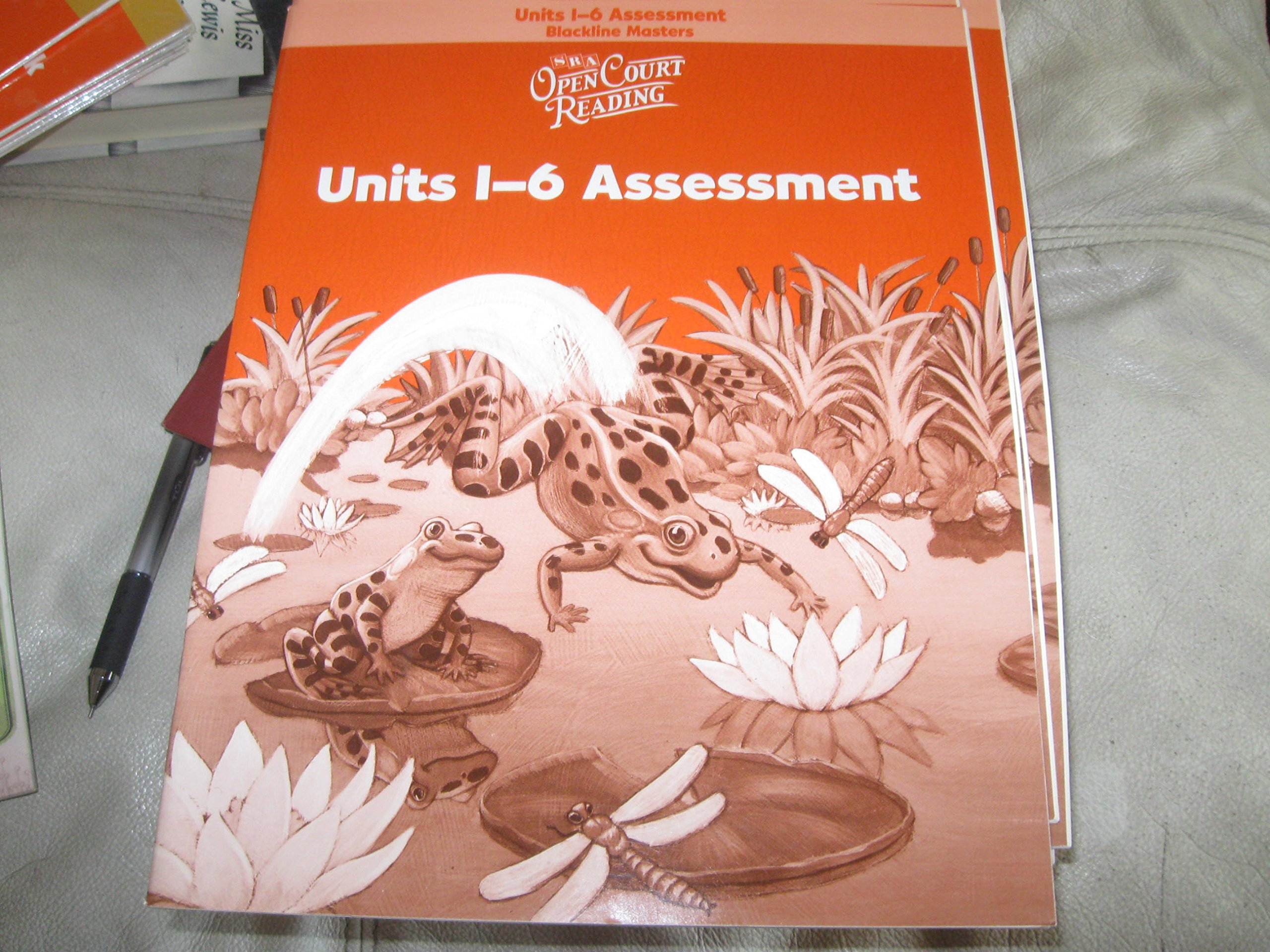 SRA Open Court Reading Program Assessment Annotated Teacher's Edition (LEVEL 1) PDF