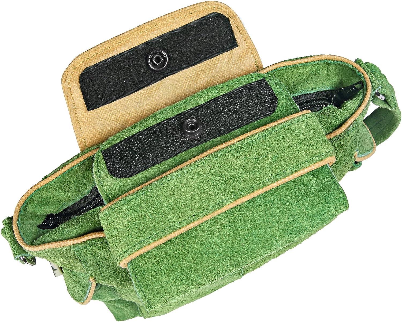 Trachten Handtasche Echtleder Leder grün Dirndltasche Trachtentasche Typ2
