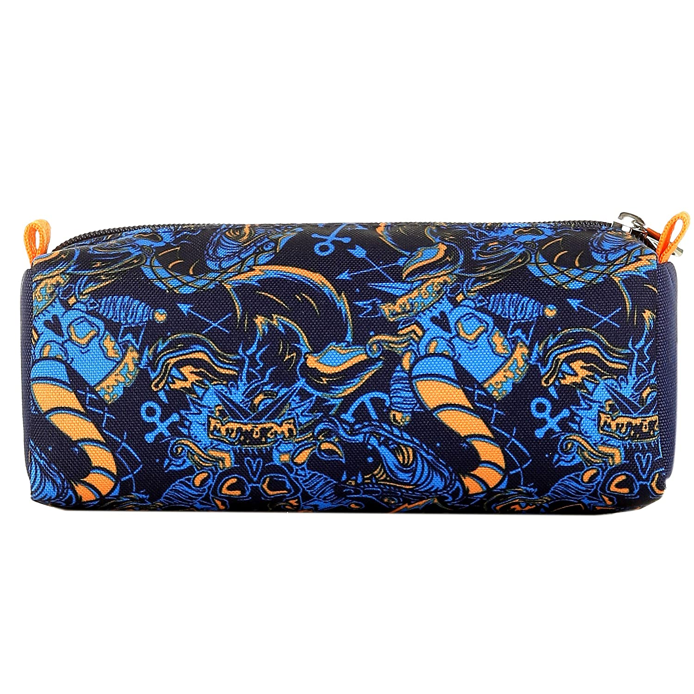 f5376b3bae Seven Zaino Scuola Bambino Portapenne - Fit - Blu Blu Blu Arancione -