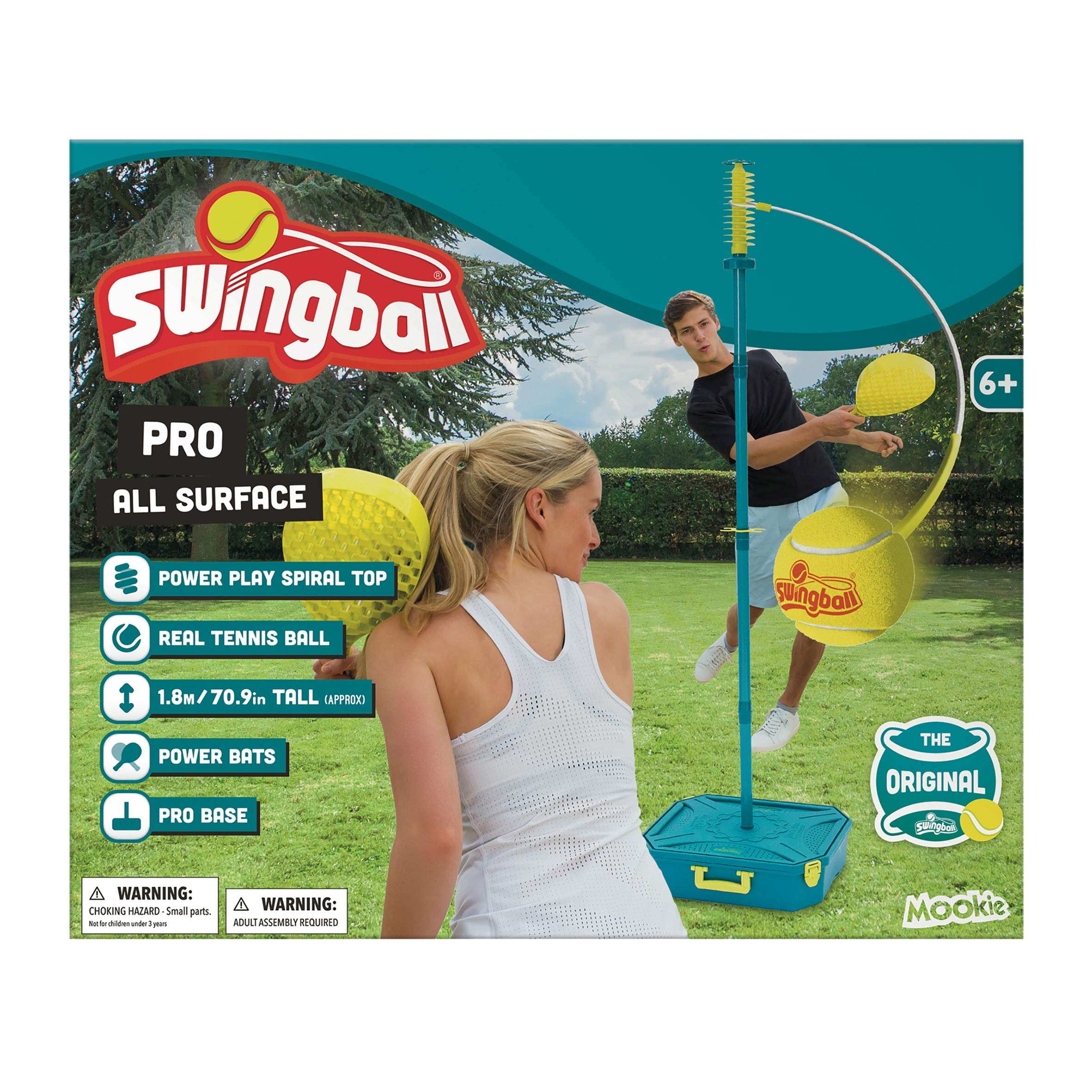All Surface PRO Swingball Tetherball - Portable Tetherball Set by Swingball