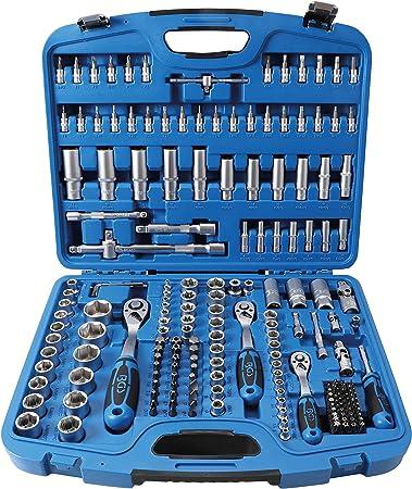 7 piezas | E4 BGS 6402 E11 Juego de llaves de vaso E-Torx 1//4 6,3 mm