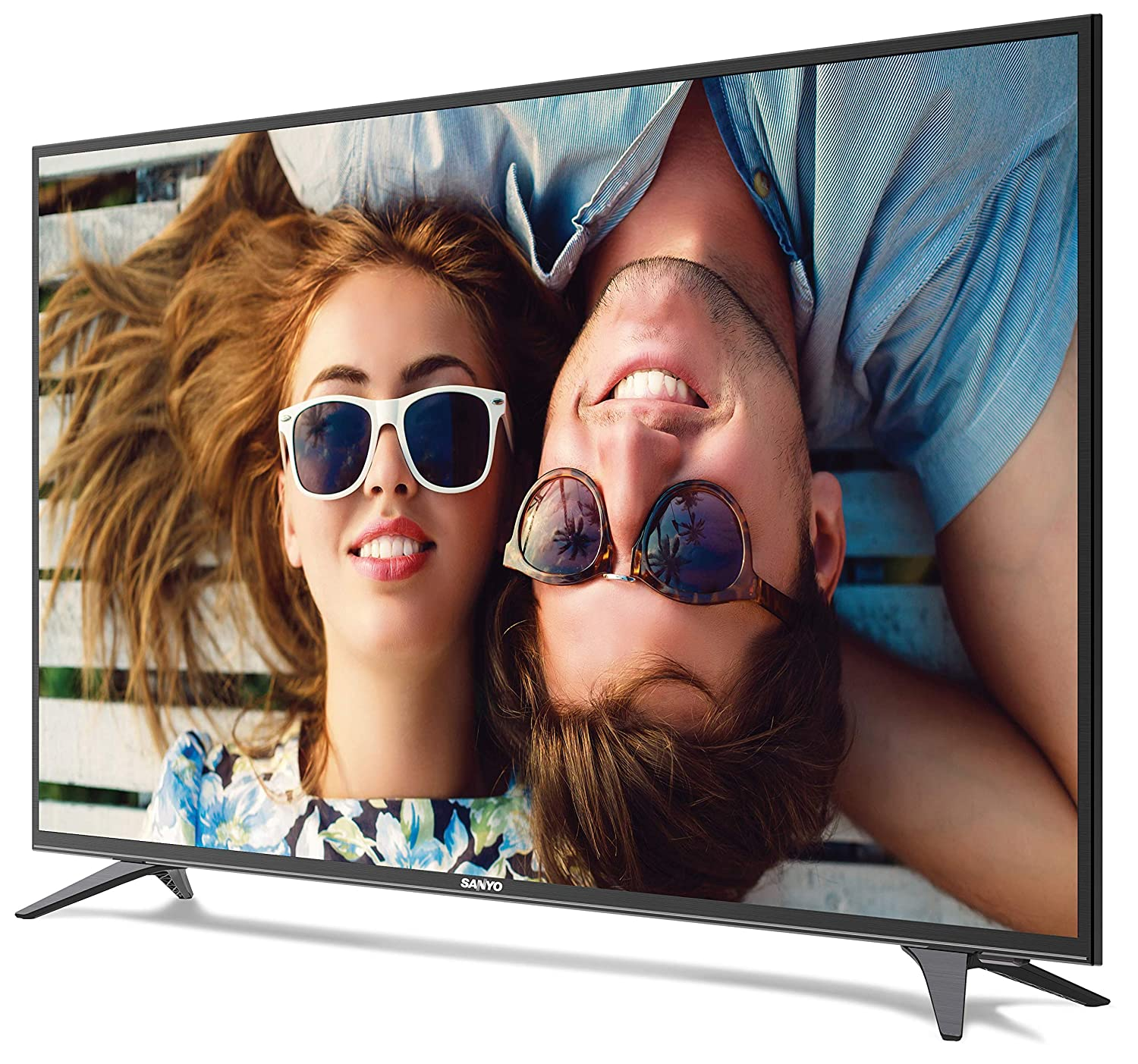 Best of the best 50 inch TV India - Sanyo 123.2 cm (49 inches) NXT XT-49S7200F Full HD LED TV (Metallic)