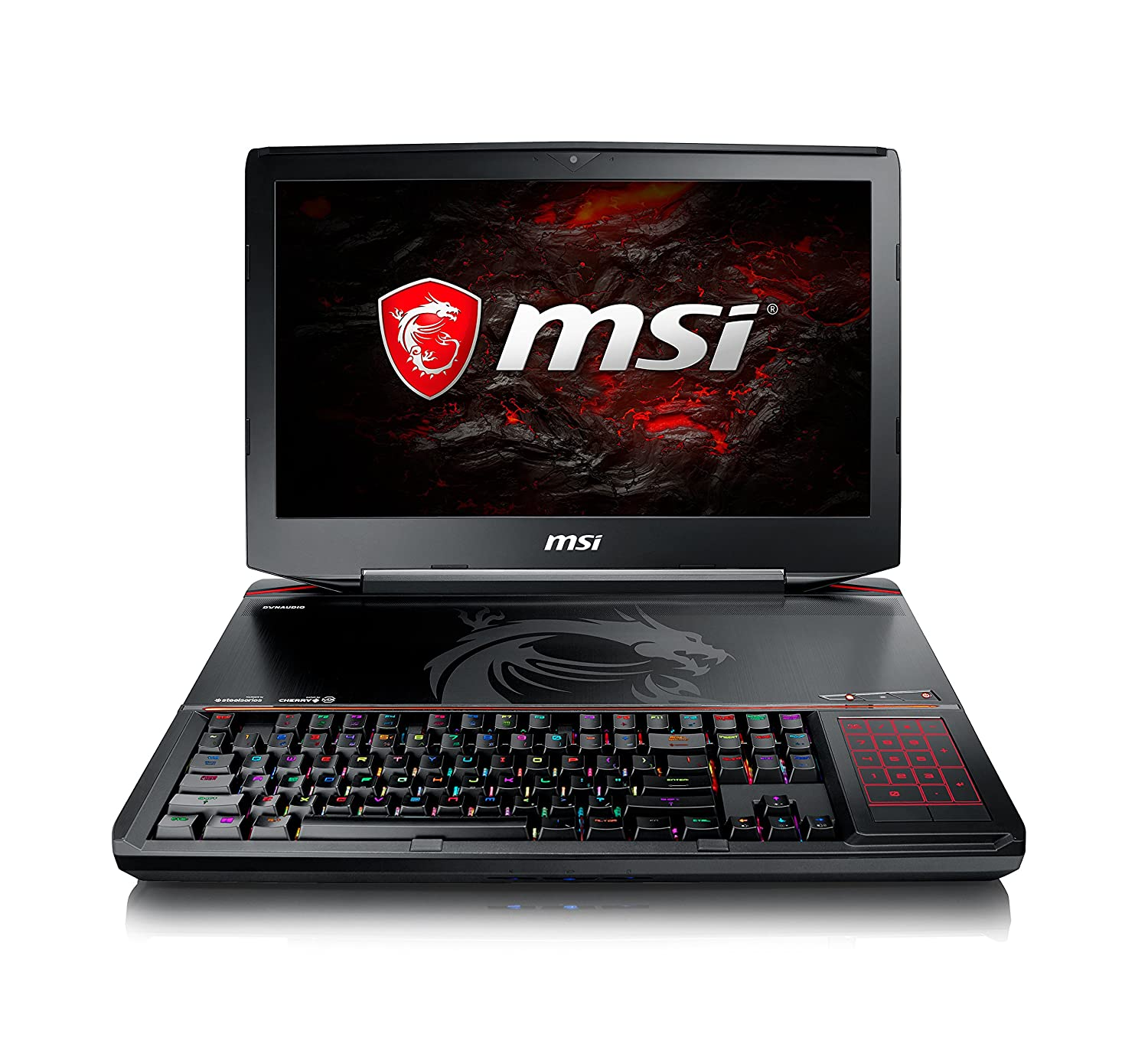 "MSI GT83VR TITAN SLI-253 IPS Level 18.4"" Hardcore Gaming Laptop GTX 1070 Dual SLI i7-7920HQ 16GB 1TB Windows 10 w/ Built-in Mechanical Keyboard"