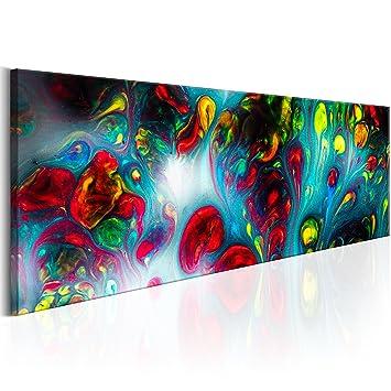Murando   Bilder Abstrakt 135x45 Cm   Vlies Leinwandbild   1 Teilig    Kunstdruck   Modern