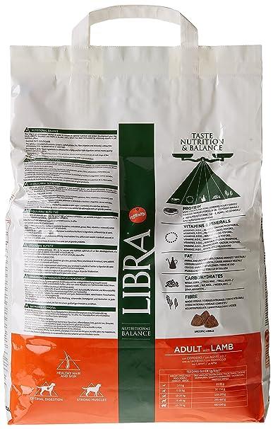 LIBRA - Pienso para perros adultos pequeños, medianos y grandes cordero: Amazon.es: Alimentación y bebidas