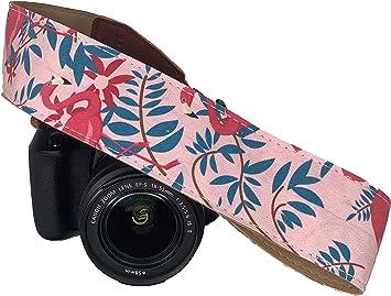 Flamingo - Correa para cámara réflex digital, color rosa Elegante ...