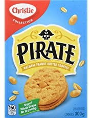 Christie Pirate Oatmeal Peanut Butter Sandwich Cookies, 1 Box (300g)