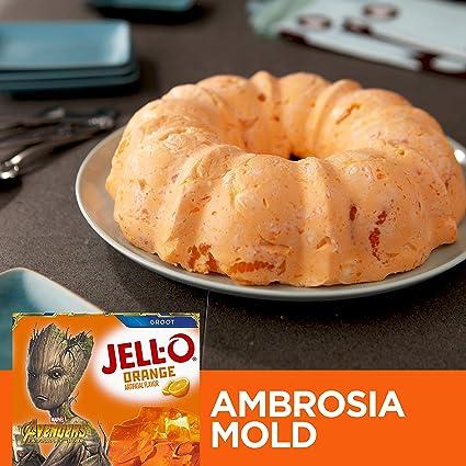 Jell-o orange Gelatin Dessert (170g): Amazon.es: Alimentación ...