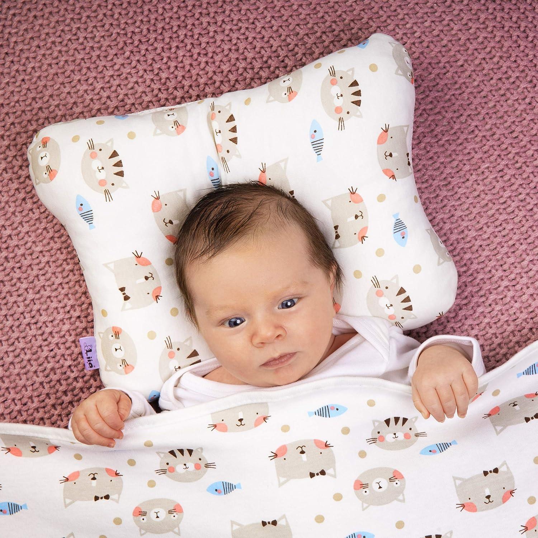 Bébé Coussin anti tête plate coussin nouveau-né Bébé Berceau Bébé Literie de bébé garçon fille