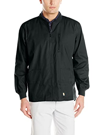 79a40e86 Carhartt Ripstop Men's Zip Front Scrub Jacket at Amazon Men's ...