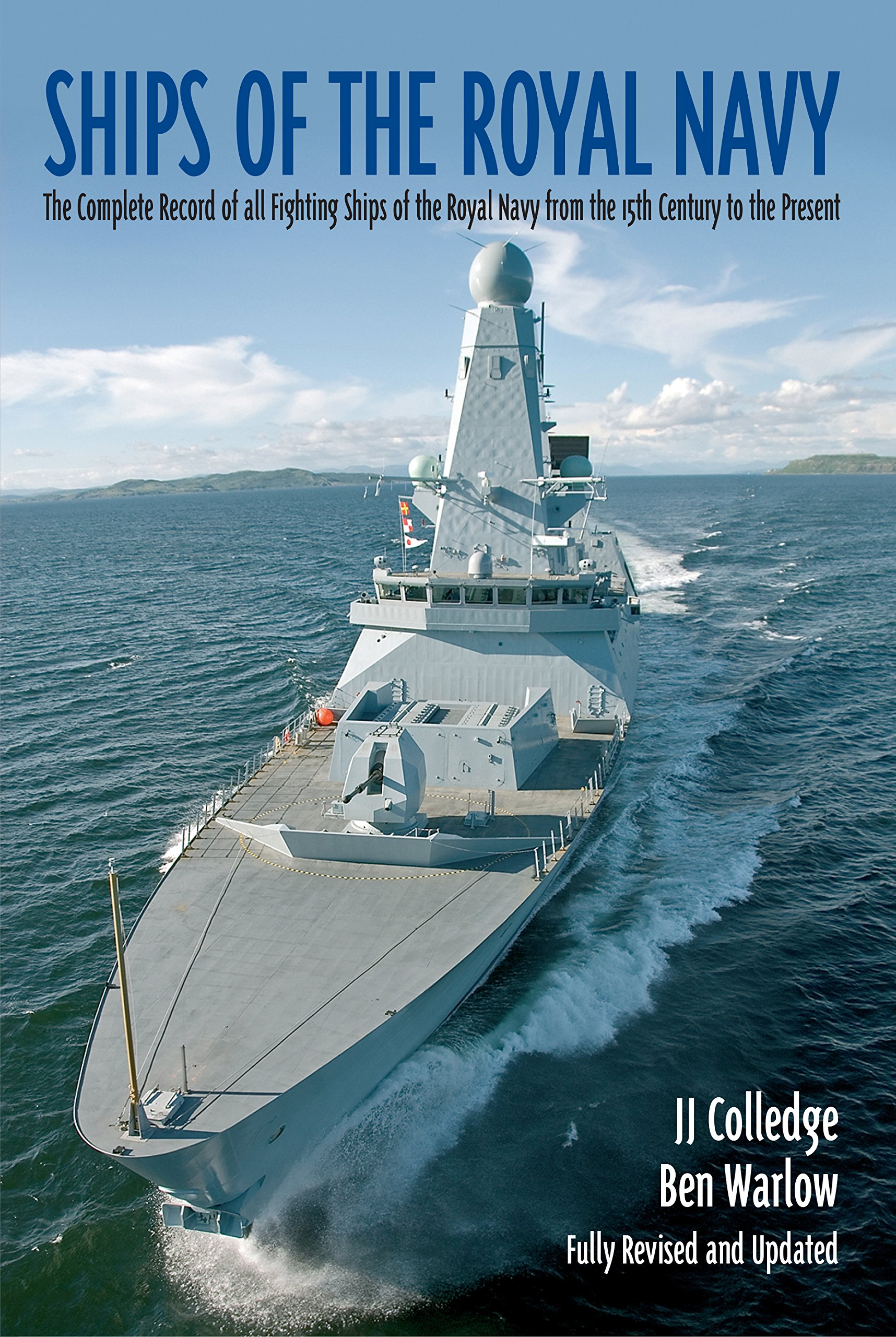 ships of the royal navy a complete record of all fighting ships