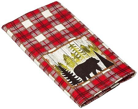 Kay Dee Designs R3310 Simple Living Bear Terry Towel Bathroom Linen