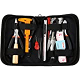 Wisehands 16 Pcs Jewelry Making Tools Kit, Jewelry Making Tools, Black Zippered Case