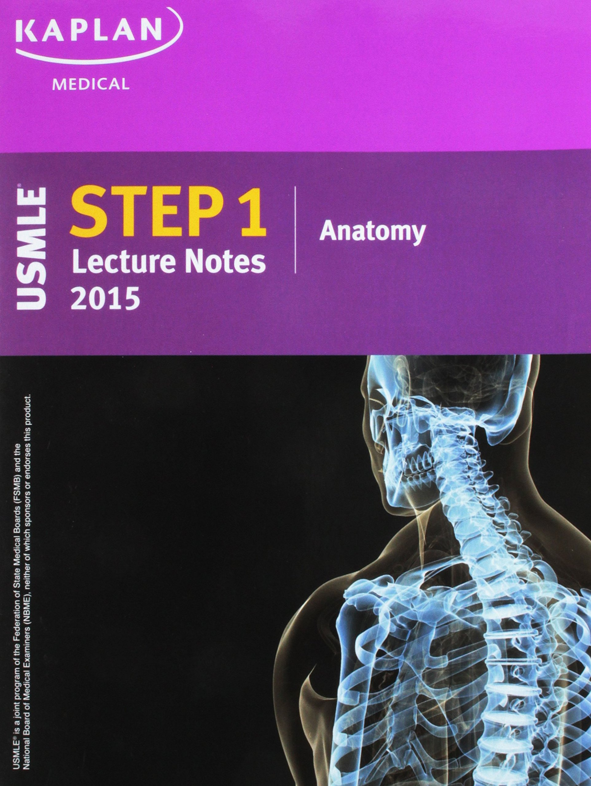 Kaplan USMLE Step 1 Lecture Notes 2015 Anatomy: 9781625230119 ...