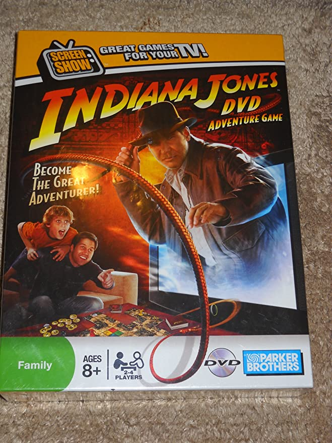 Indiana Jones DVD Game: Amazon.es: Juguetes y juegos
