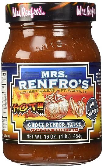 Image result for mrs renfros ghost pepper