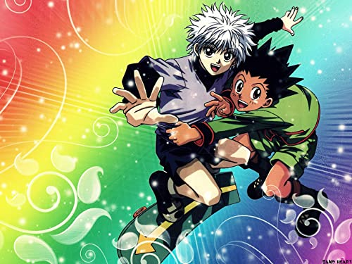 Amazon Com Hunter X Hunter Wallpaper Killua Poster Gon Poster Boys Print Main Characters Wallpaper Anime Poster Art Print Handmade