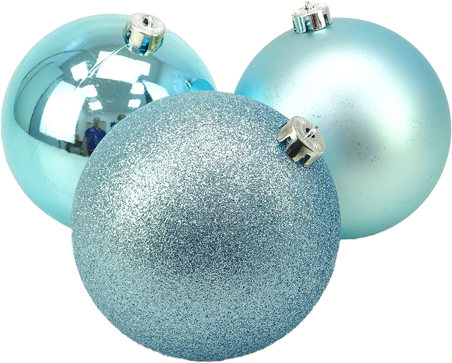 Christmas Concepts® Pack of 3 Matte Extra Large 150mm Christmas Tree Baubles