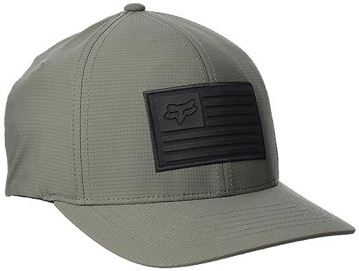 c9e65fb7 ... fox racing mens downshift flexfit hat small medium military ...