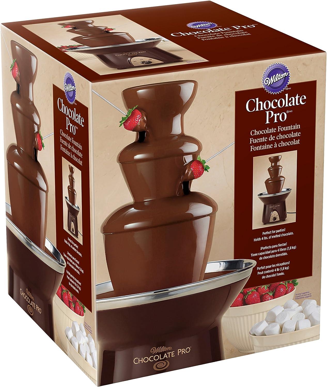 Wilton Chocolate Pro Chocolate Fountain - Chocolate Fondue Fountain, 4 lb. Capacity