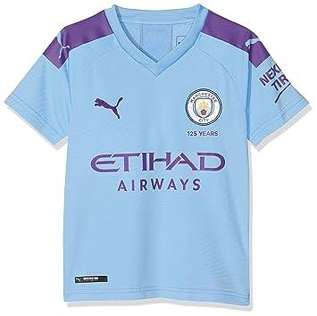 official photos d081e 1c47b Amazon.com : PUMA 2019-2020 Manchester City Home Football ...