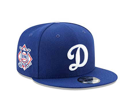 5e71b8e9ec0 New Era 9fifty Men s Hat Los Angeles Dodgers  D quot  Bacik Royal Blue  Snapback Cap