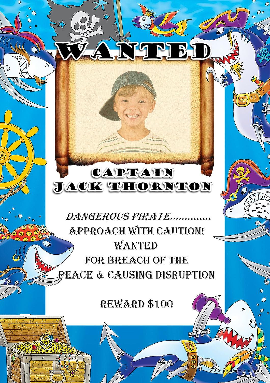 Personalizado las niñas niños pirata fiesta de cumpleaños ...