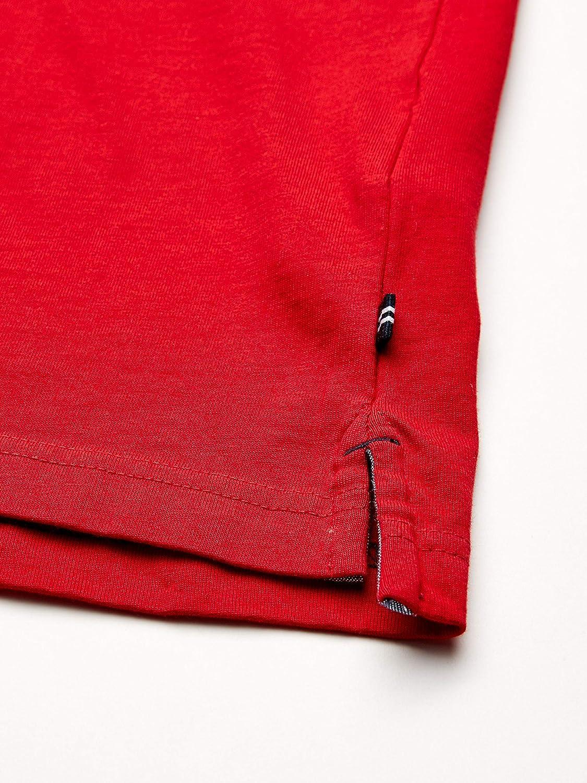 Nautica Mens Classic Fit Short Sleeve Logo Stripe 100/% Cotton Polo Shirt