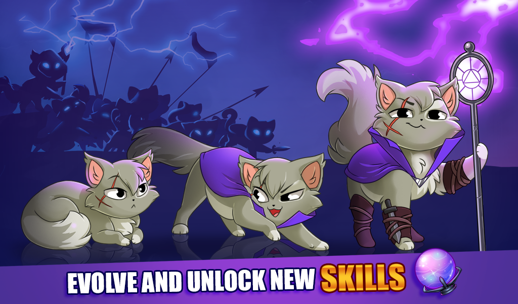 Castle Cats , Idle Hero RPG