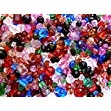 Beading Kit, Super assortment of beads for fun crafts and beading projects (Assorted Beads 4x6 Bag)