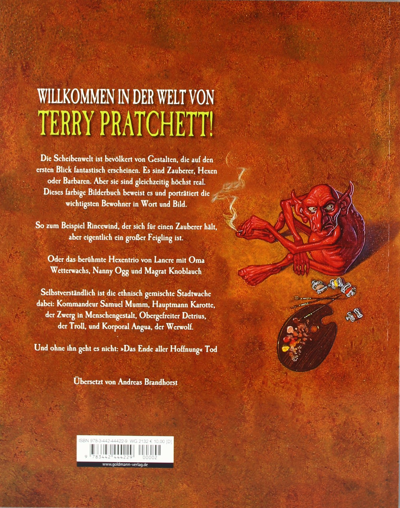 Das Scheibenwelt Album Terry Pratchett Paul Kidby 9783442444229 Amazon Books