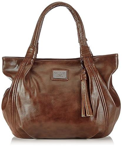 premium selection 1168d 303f2 Belmondo 302108AB, Borsa Shopper Donna, Marrone (Braun (Noce ...