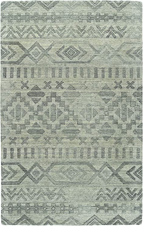 Kaleen 9 X 12 Wool Area Rug In Silver Hand Tufted Palladian Collection Furniture Decor