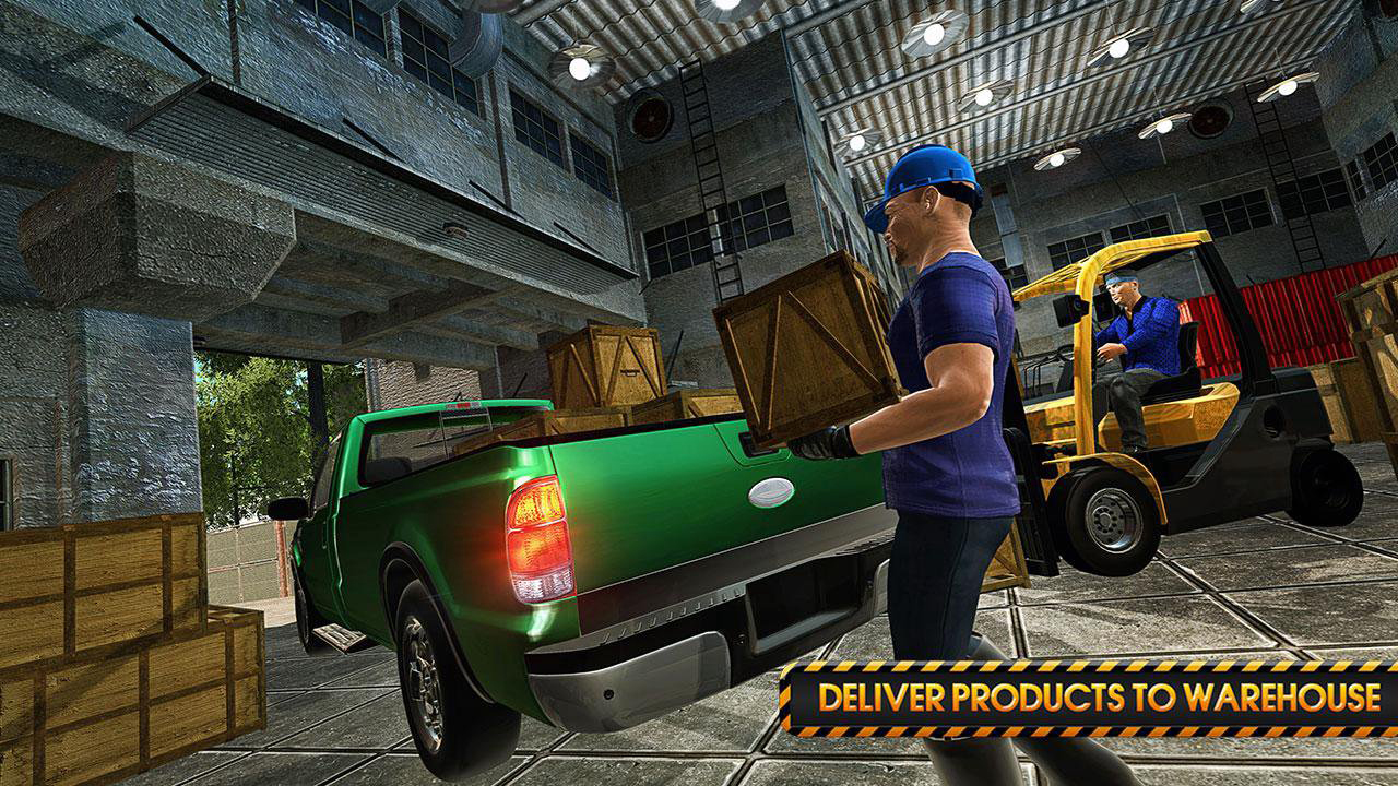 Transporter Truck Simulator Extreme Driving 3D: Euro City - Import It All