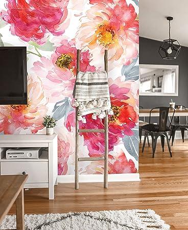 3D Flower F41 Removable Wallpaper Self Adhesive Wallpaper Extra Large Peel /& Stick Wallpaper Wallpaper Mural AJ WALLPAPERS