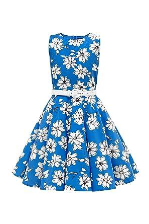 9c195688e649f Blackbutterfly  audrey  Vintage Robe Années 50 Daisy Amazon Enfants TqTHw7