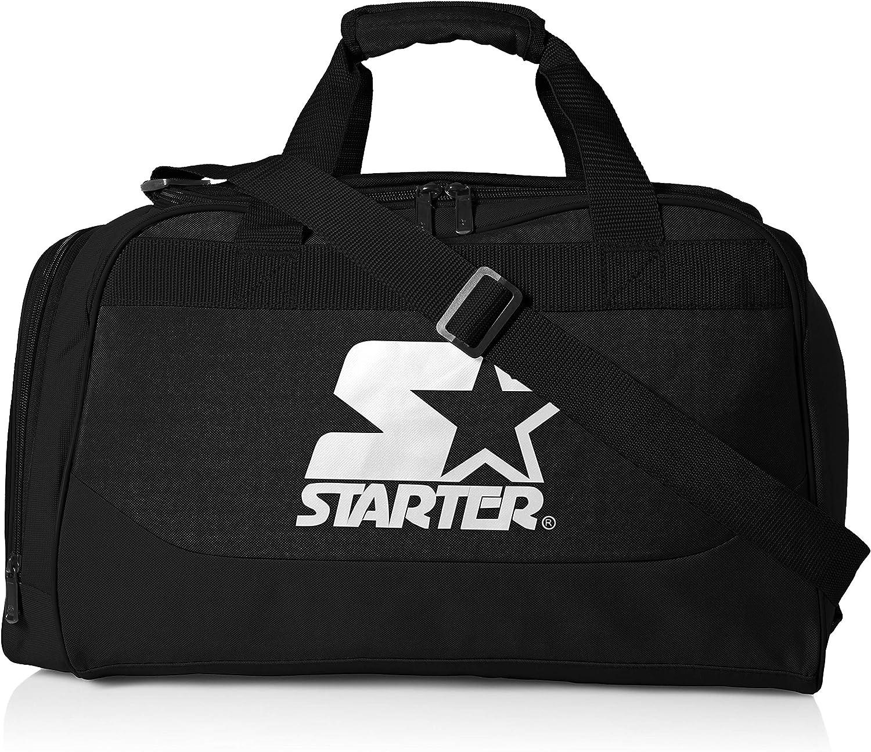 Amazon.com: Starter Sport Duffel Bag, Amazon Exclusive, Black, One ...