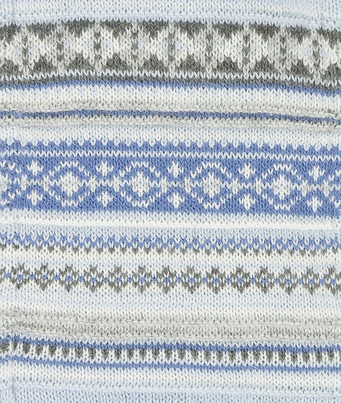 Ballad Blue 3004 D/öll Schal Strick Sciarpa 1 Bambino Blu