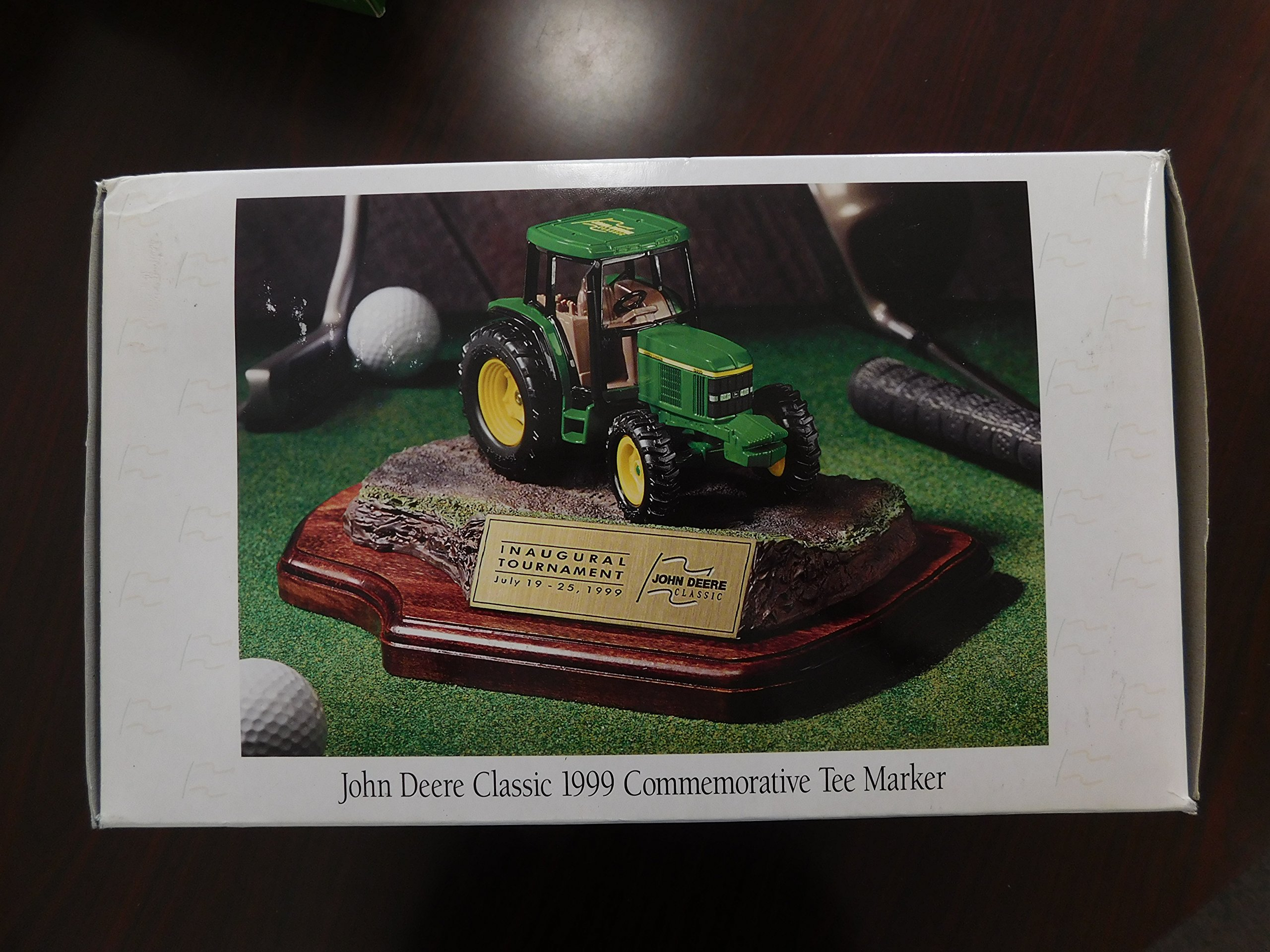 John Deere Classic Inaugural Tournament July 19-25, 1999, Commemorative Tee Maker, Very Rare Date