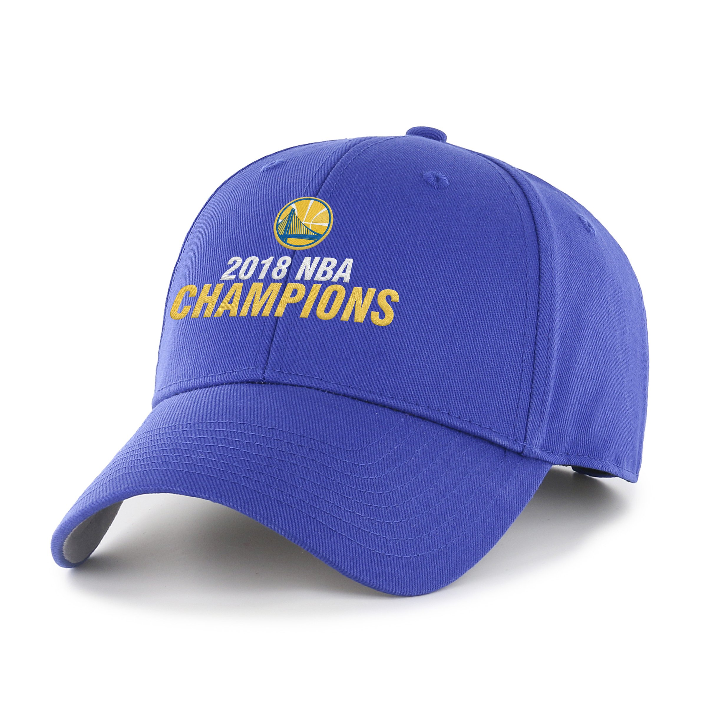OTS NBA Golden State Warriors Unisex NBA 2018 Champions All-Star Adjustable Hat, Royal-Champs, One Size