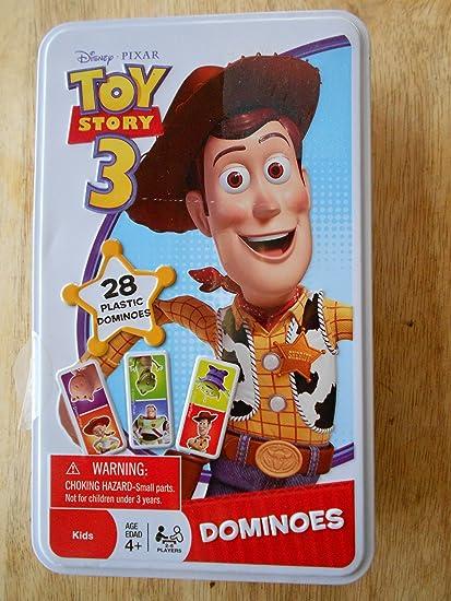 Disney Pixar Toy Story 3 Dominoes Game In Tin