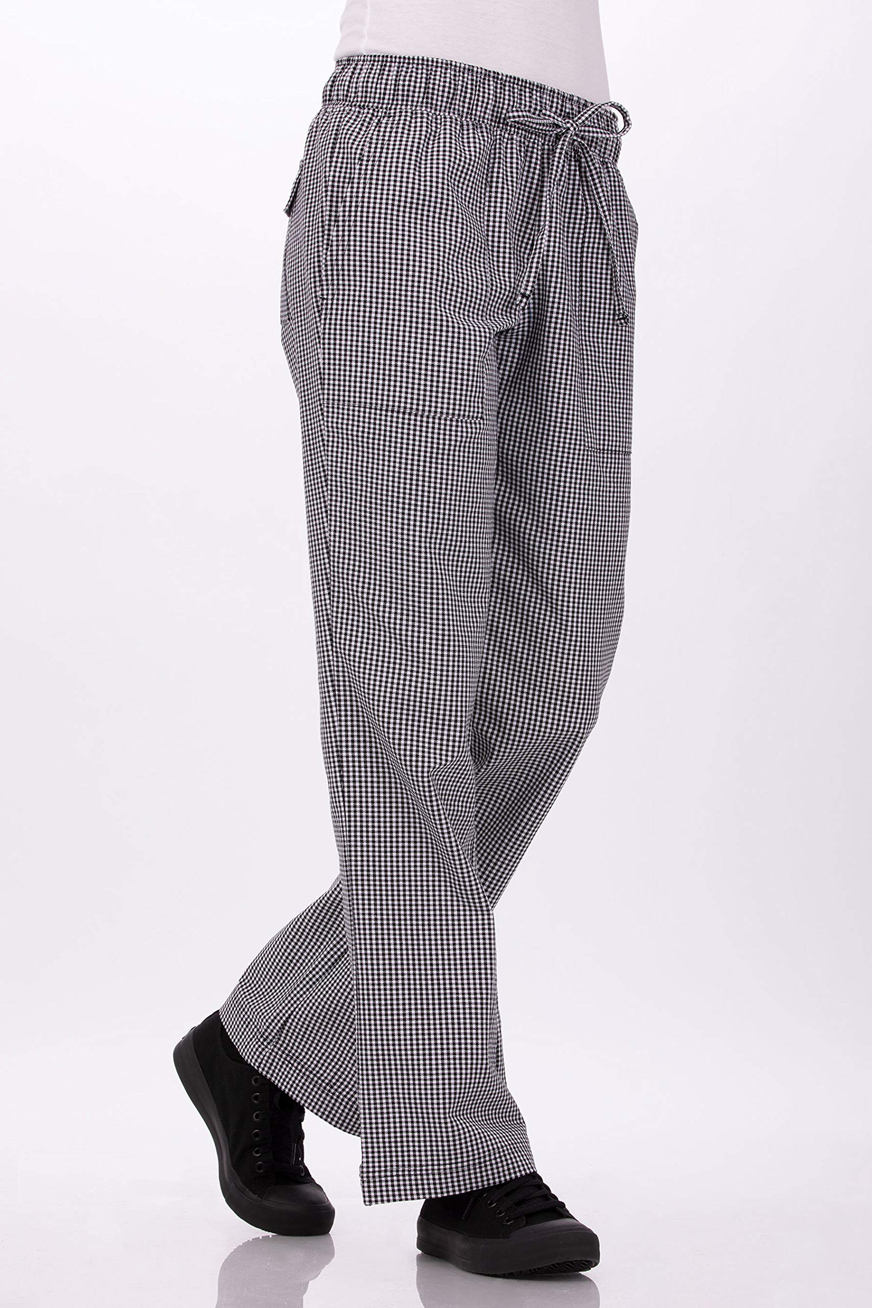 Chef Works Women's Chef Pants, Small Check, X-Small by Chef Works