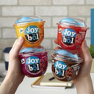 joyböl - Juego de cuencos de batido, sabor variedad, fresa ...