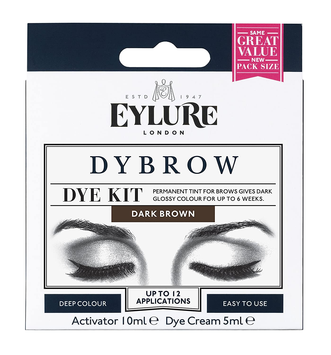 Eylure Dybrow Eyebrow Dye Kit Dark Brown Amazon Beauty