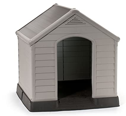 Keter 17360369 - Caseta para perro, color beige/verde