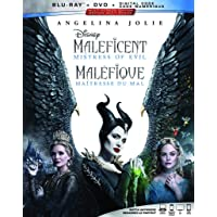 Maleficent: Mistress of Evil [Blu-ray + DVD + Digital] (Bilingual)